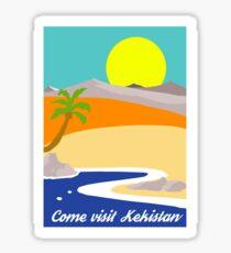 Come Visit Kekistan Sticker