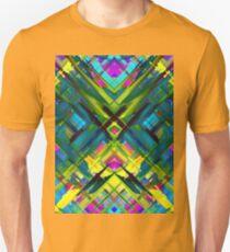 Colorful digital art splashing G467 Unisex T-Shirt