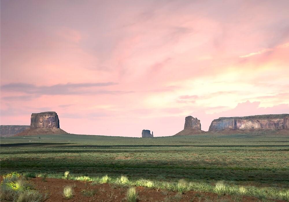 Purple skys movie landscape by Randy Branham