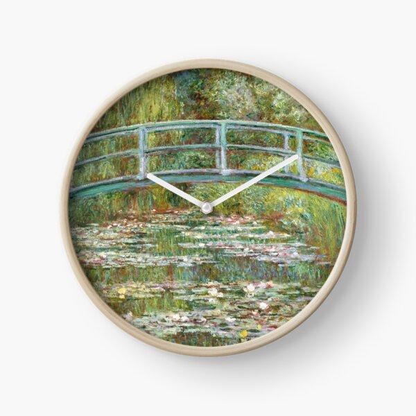 Monet, Bridge over water Lilies  Clock