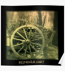 RED RIVER CART  Poster