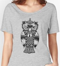 Owl Maori - Nature  Women's Relaxed Fit T-Shirt