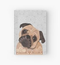 Pug Hug Hardcover Journal