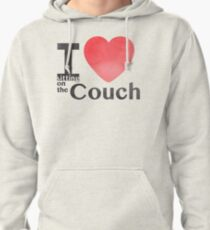 I Heart Sitting On The Couch T-Shirt