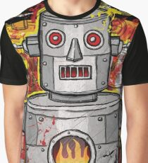 Stupid Robot Graphic T-Shirt