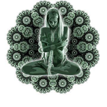 """""""Mandala Meditation"""" Shibari Japanese Rope Bondage BDSM Kink by boundlesstees"""