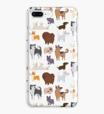 Dog Breeds Pattern iPhone 8 Plus Case