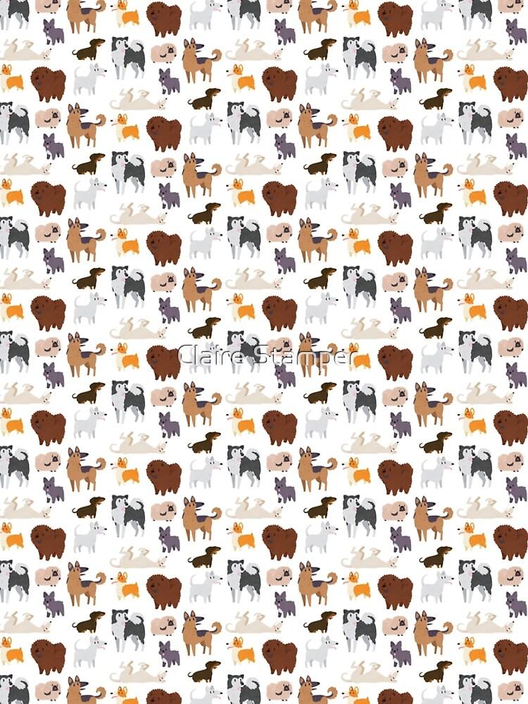 Dog Breeds Pattern by bakura240