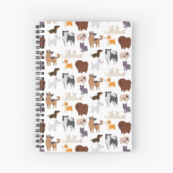 Patrón de razas de perros Cuaderno de espiral
