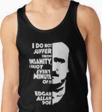 Edgar Allan Poe Insanity Tank Top