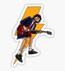 The Guitar Thunder Sticker