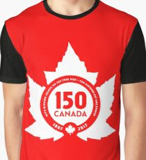 Canada Day 150 Graphic T-Shirt
