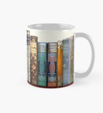 Jane Austen Antique Books Mug