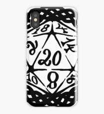 Elegant D20 iPhone Case/Skin