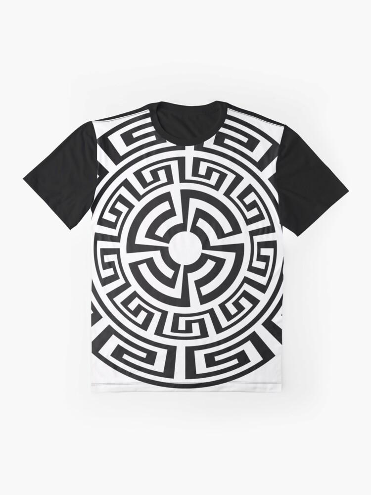 Alternate view of greek sun Graphic T-Shirt
