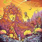 Rick and Morty alien landscape by Manictotem