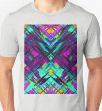 Colorful digital art splashing G472 Unisex T-Shirt