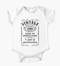 Vintage Limited 2000 Edition - 17th Birthday Gift Kids Clothes