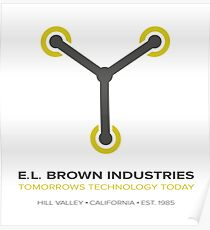 E. L. BROWN INDUSTIRES Poster