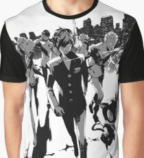 Persona 5 Thief Army of Justice Graphic T-Shirt