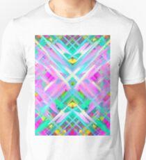 Colorful digital art splashing G473 Unisex T-Shirt