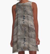 Burlap A-Line Dress