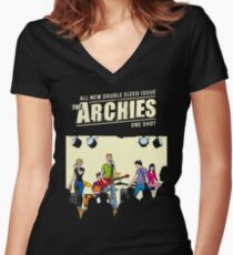 THE ARCHIES Women's Fitted V-Neck T-Shirt