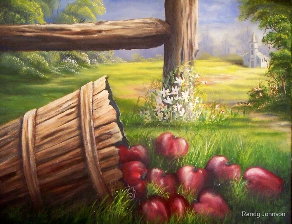 Forgotten Apples by Randy Johnson