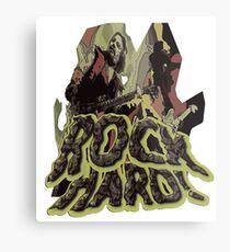 Rock Hard Metal Print