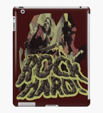 Rock Hard iPad Case/Skin