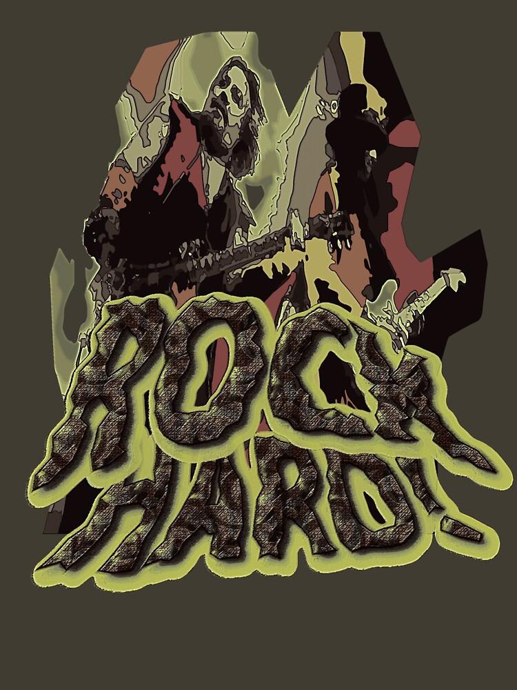 Rock Hard by davecrokaert