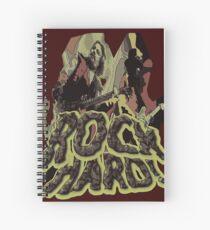 Rock Hard Spiral Notebook