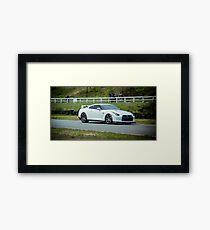 Nissan GT-R  Framed Print