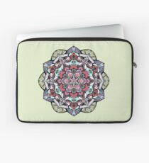 Flowers mandala #38 Laptop Sleeve