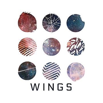 BTS- Wings Galaxy by bballcourt