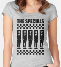 2Tone Era, The Specials Women's Fitted Scoop T-Shirt