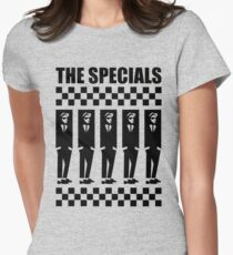 2Tone Era, The Specials Women's Fitted T-Shirt