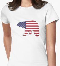 American Flag – Bear T-Shirt