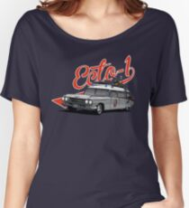ECTO-1 - GHOSTBUSTERS´S CAR Women's Relaxed Fit T-Shirt