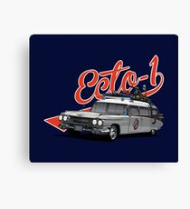 ECTO-1 - GHOSTBUSTERS´S CAR Canvas Print