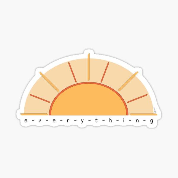 Everything Under the Sun by WIPjenni Sticker