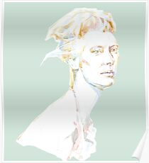 Tilda Swinton - magic woman Poster