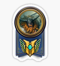 Olaf Mastery Level 7 Sticker