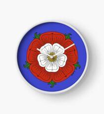 Tudor Rose Clock