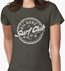 Kilgore Surf Club HD Distressed Variant Womens Fitted T-Shirt