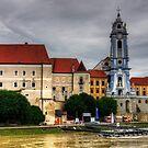 Dürnstein Abbey by Tom Gomez