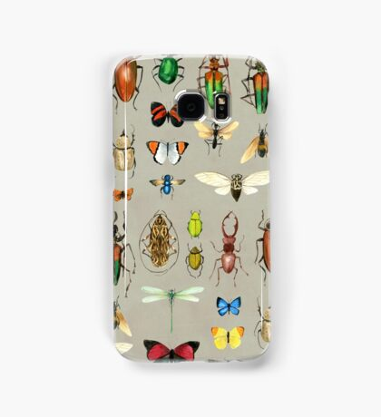 The Usual Suspects - Insects on grey Samsung Galaxy Case/Skin