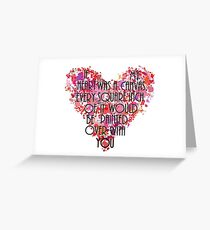 Every Square Inch Greeting Card