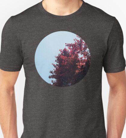 Lieber roter Baum T-Shirt