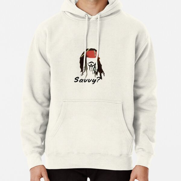 Captain Jack Sparrow Savvy? Pullover Hoodie